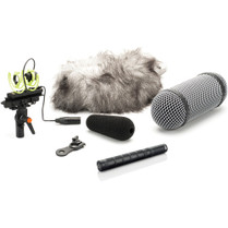 DPA Microphones 4017C-R Shotgun Microphone with Side Active Cable