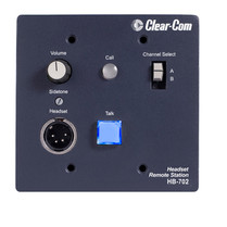 Clear-Com HB-702 Intercom Headset Station, 2 Channel
