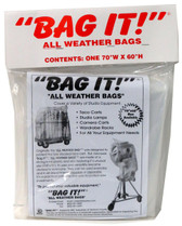 "Bag It Small Bag Rain Cover 70"" x 60"""