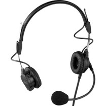 """Telex PH-44-IC3 Dual-Sided Lightweight Headset With 1/8"""" Spit Feed"""