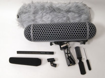 Sennheiser MKH416 Shotgun Mic W/ Rode Blimp Windshield Kit