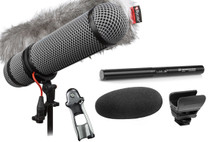 Sennheiser MKE 600 Short Shotgun Microphone W/ Rycote Super-Blimp NTG Windshield Kit