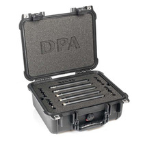 DPA d:mension™ 5006-11A SURROUND KIT WITH THREE d:dicate™ 4006A, TWO d:dicate™4011A, CLIPS AND WINDSCREENS IN PELI™