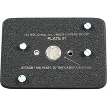 BEC Group BEC-BOTPLT1 Camera Bottom Plate for Under Camera Placement