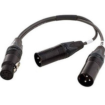Sennheiser ACS5 5-pin XLR Female to Dual XLR Male Y Cable for MKH418S and MKE44P Microphones (6-inches) (15.24cm)