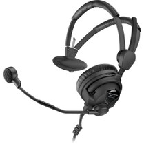 Sennheiser Single-Sided Broadcast Headset with Hyper-Cardioid Dynamic Microphone (600 Ohms)