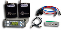 New Lectrosonics SRC-A1 Dual-Channel Slot Receiver & (2) Used Lectro UM400a Transmitters (1x Block 470 & 1x Block 19) w/ SREXT Adapter & Cables