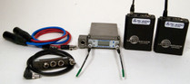 Used Lectrosonics SRB/5p Dual Channel Receiver & (2) UM400a Transmitters with SREXT Adapter & Cables - Block 25
