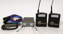 Used Lectrosonics SRB Dual Channel Slot Receiver W/2x UM400A, SREXT Adapter & Cables - Block 25