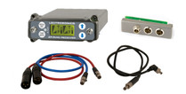 Lectrosonics SRC Wideband Dual Channel Slot Receiver with SREXT Adapter, BDS Power Cable & Audio Cables, C1 (614.400 - 691.175 MHz Blocks 24, 25 and 26)