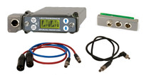 Lectrosonics SRC5p Wideband Dual Channel Slot Receiver with SREXT Adapter, BDS Power Cable & Audio Cables, C1 (614.400 - 691.175 MHz Blocks 24, 25 and 26)