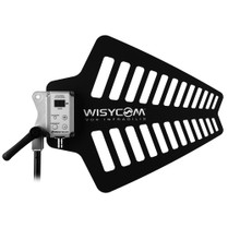 Wisycom LBNA2 Wideband UHF LPDA Antenna with Integrated Booster w/ BNC Connector