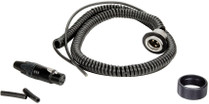 Ambient QXCCMI-65 QX Coiled Cable Set for QXS 565/QX 565, Mono XLR-3