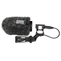 Rycote 033332 12cm Classic Softie Kit (19/22mm Mics) with Lyre Mount / Pistol Grip / Cable