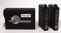 Used Lectrosonics IFB System: T4 Transmitter with (2) R1A Receivers - Block 24
