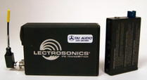 Used Lectrosonics IFB System: T4 Transmitter and R1A Receiver - Block 24