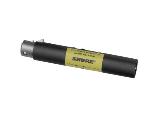 Shure A15AS In-line Switchable Attenuator