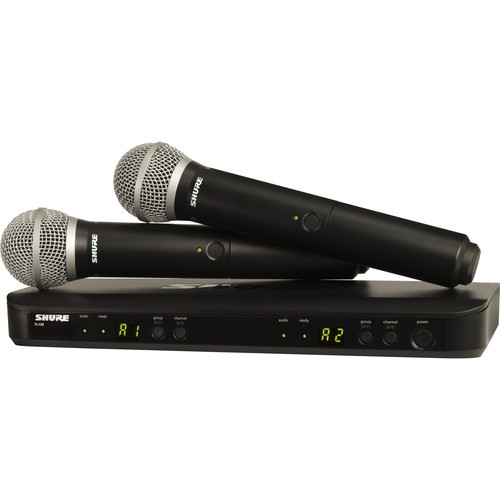 Shure BLX288/PG58 Dual Channel Wireless System
