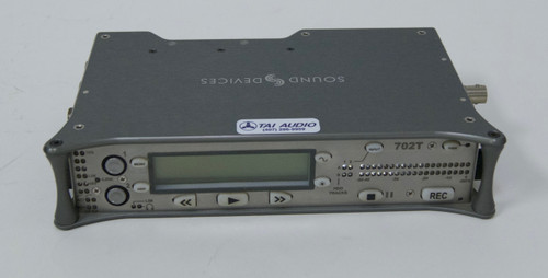 Used Sound Devices 702T Portable Two-Track Digital Recorder w/Time Code