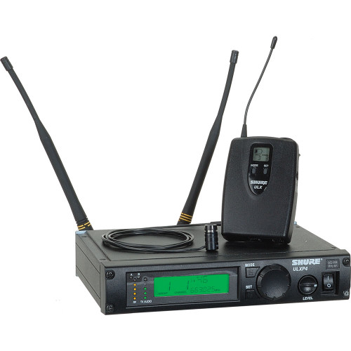 Shure ULX Diversity Professional Series - Wireless Lavalier Microphone System  Frequency  G3 (470.15 - 505.87 MHz)