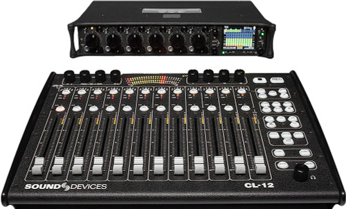 Sound Devices CL-12 Linear Fader Controller For The 6 Series
