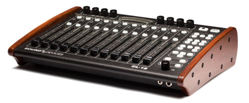 Sound Devices Alaia CL-12 Linear Fader Controller For The 6 Series (Red Mahogany)