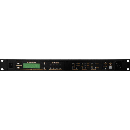 Telex BTR-800 2-Channel UHF Base Station (A4M Telex, Clearcom)
