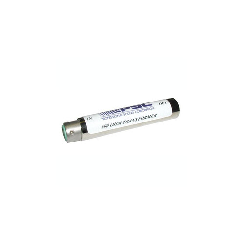 PSC  Adapter Barrel - 600 Ohm Xfmr