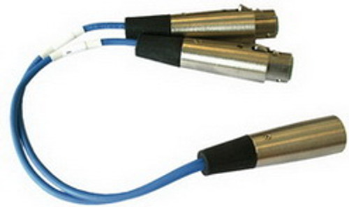 Clear-Com YC-36 3-Pin to 6-Pin Adapter
