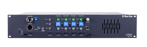 Clear-Com MS704 Rack Mountable 4 Channel Main Station