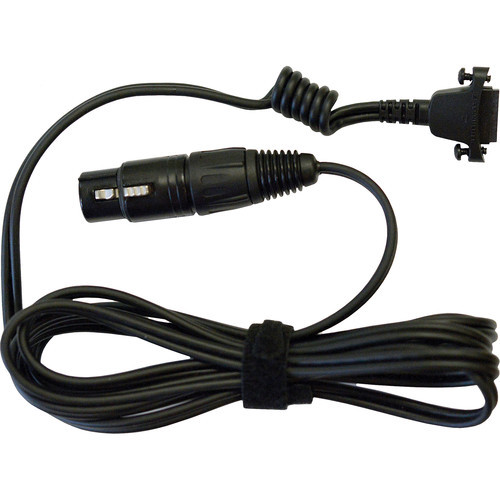 Sennheiser CABLE-II-X4F Straight Copper Cable with XLR-4 Connector for HMD26/46 Headsets (6.6')