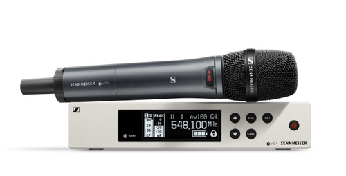 Sennheiser EW100 G4-945-S Evolution Wireless G4 Vocal Set with e 945 Capsule