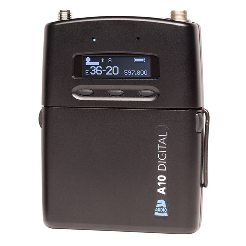 Audio Limited A10-TX-US Digital Body Pack Wireless Transmitter