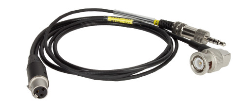 Ambient iTC-552B Timecode Out Cable BNC(RA) to TA3F + 3.5mm TRRS