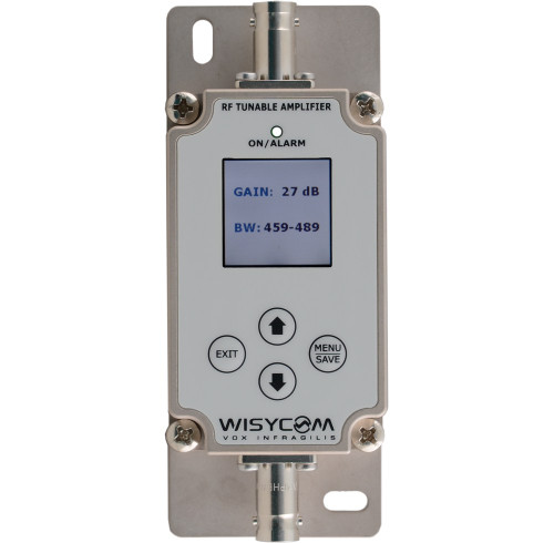 Wisycom BFA Wideband UHF Antenna Amplifier with Remote Controlled Filters w/ BNC Connectors