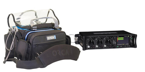 Demo Sound Devices 633 6-Input/10-Track Field Production Mixer w/ Orca OR-30 Bag #2