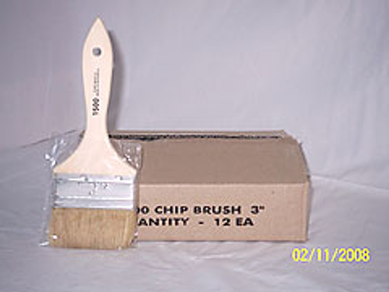 """3"""" Imported Chip Brush / Wooden Handle"""