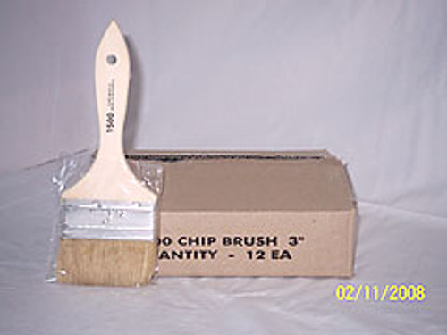 "3"" Imported Chip Brush / Wooden Handle"