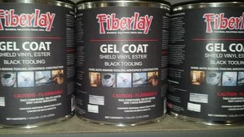 Gel Coat ( Black Tooling ) 1 Gallon + MEKP Included