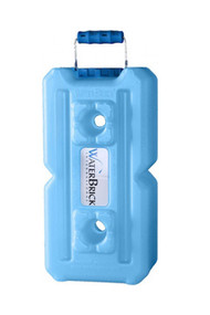Waterbrick water storage container - Blue