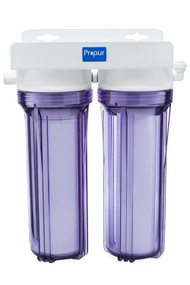 Propur dual under counter filter system