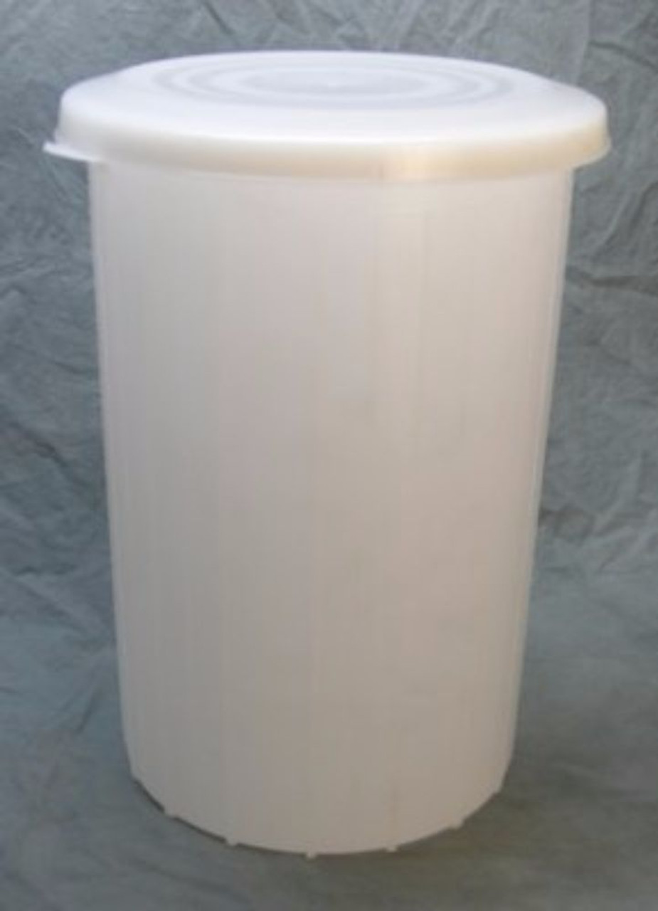 & Plastic Fermentor With Solid Lid - 10 Gallon - Home Brew Ohio