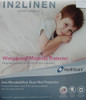 LONG SINGLE Size Terry Towelling WATERPROOF Fitted Mattress Protector ANTI DUST MITE Healthguard Treated