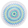 Bambury Round Beach Towel - Tulum