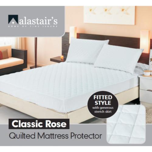 Alastair's Classic Rose Queen Mattress Protector