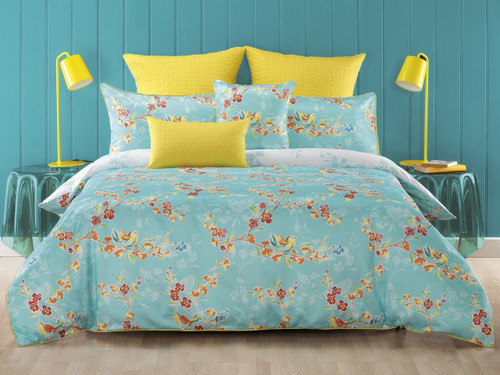 Bianca Akasha 5 Pce King Quilt Cover Set