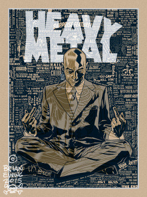 HEAVY METAL GRANT MORRISON REGULAR A/P