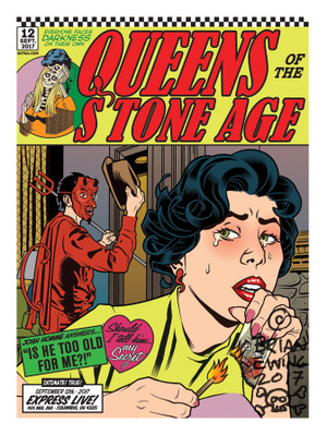 """  QUEENS OF THE STONE AGE"" 6 regular"