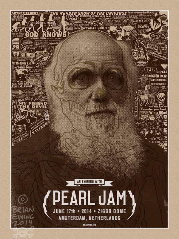 Pearl Jam Original Art