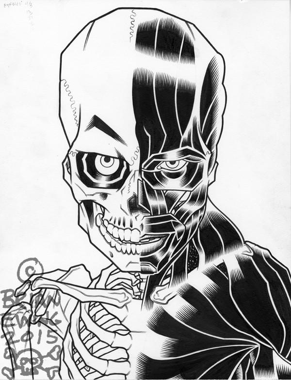Night Of The Living Dead Original Art